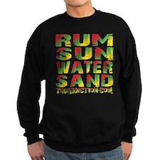 TIKI - RUM SUN WATER SAND - RASTA Sweatshirt