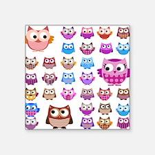 Owls! Sticker