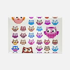 Owls! Rectangle Magnet