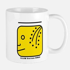 YELLOW Overtone HUMAN Mug