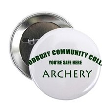 Woodbury CC Archery Team - You're Safe Here 2.25""