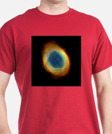 M57 Ring Nebula Red Astronomy T-Shirt