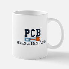 Pensacola Beach - Nautical Design. Mug