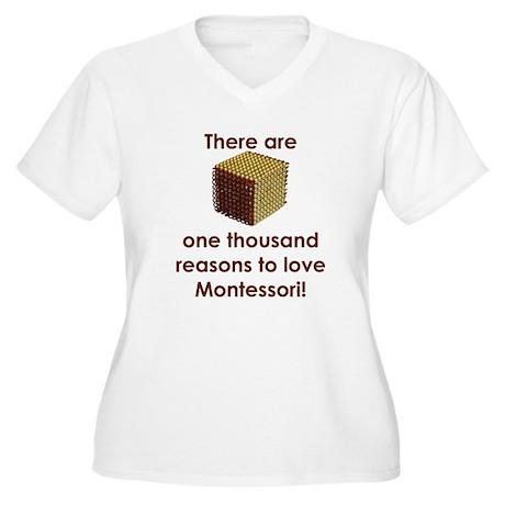 ThousandReasonsLoveMontessori.jpg Plus Size T-Shir
