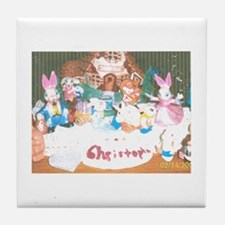 Happy Easter/Passover Christopher. Tile Coaster