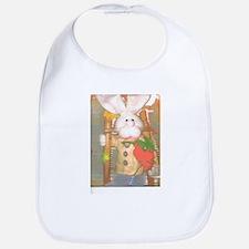 A Happy Rabbit. Bib