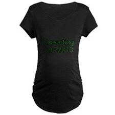 Expecting July 2013 Maternity T-Shirt