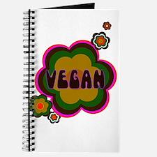 Retro vegan Journal