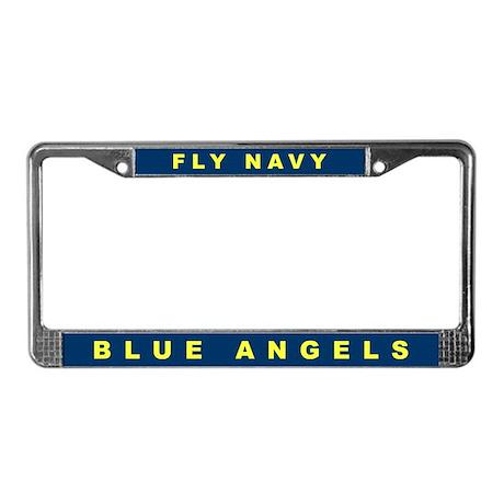 Blue Angels License Plate Frame