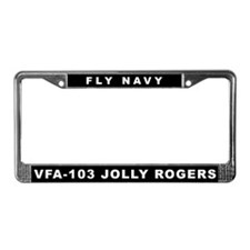 VFA-103 License Plate Frame