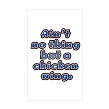 Chicken Wing Rectangle Decal