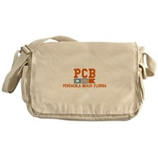 Pensacola Beach - Nautical Design. Messenger Bag