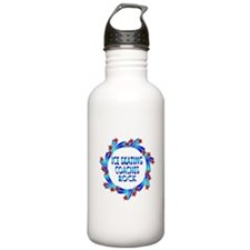 Ice Skating Coaches Rock Water Bottle