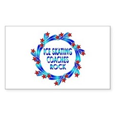 Ice Skating Coaches Rock Decal