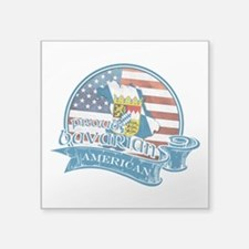 Proud Bavarian American Sticker