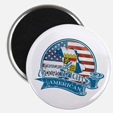 "Proud Bavarian American 2.25"" Magnet (10 pack)"