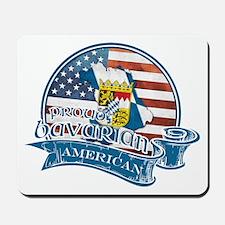 Proud Bavarian American Mousepad