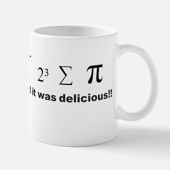 I ate some pie! Small Mug