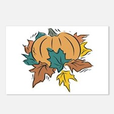 Thanksgiving Pumpkin Postcards (Package of 8)