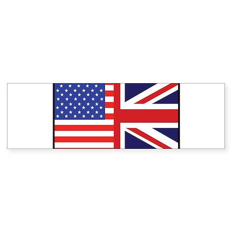 USA/Britain Bumper Sticker