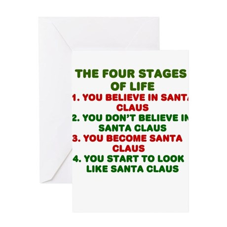 fourstages Greeting Cards