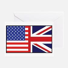USA/Britain Greeting Cards (Pk of 10)
