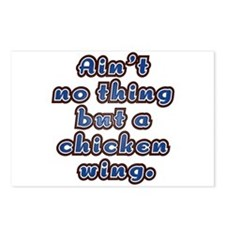 Chicken Wing Postcards (Package of 8)