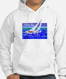 A Windy Day/t-shirt Hoodie