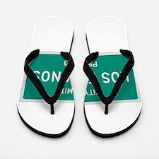 Los Fresnos, Texas City Limits Flip Flops