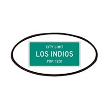 Los Indios, Texas City Limits Patches