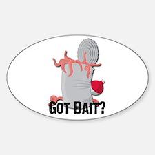 Got Bait? Oval Decal