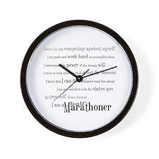 I'm a Half Marathoner Wall Clock
