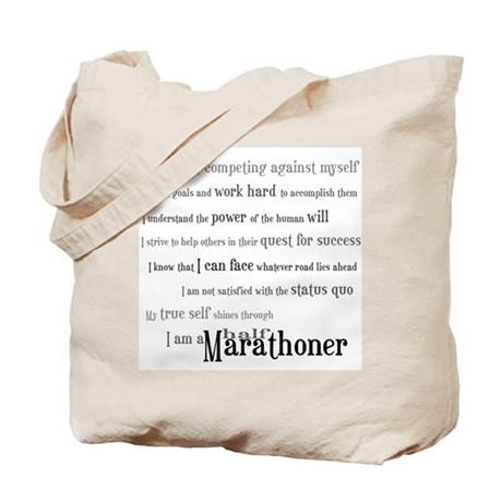 I'm a Half Marathoner Tote Bag