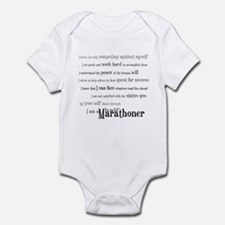 I'm a Half Marathoner Infant Bodysuit
