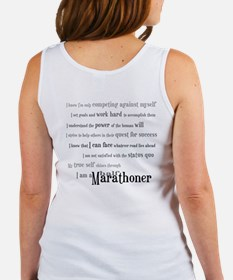 I'm a Half Marathoner Women's Tank Top