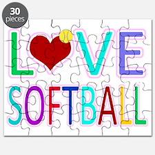 LOVE Softball Puzzle