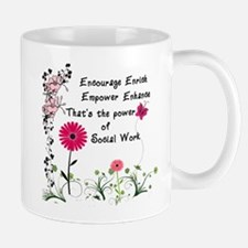 The power of social work Mugs
