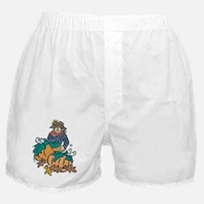 Thanksgiving Scarecrow Boxer Shorts