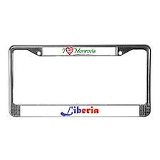 Liberian Goodies License Plate Frame
