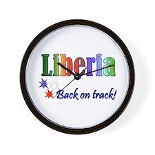 Liberian Goodies Wall Clock