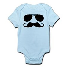 Macho Mustache Infant Bodysuit