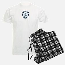 Pensacola Beach - Sand Dollar Design. Pajamas