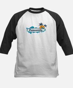 Pensacola Beach - Surf Design. Tee