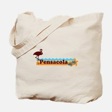 Pensacola Beach - Beach Design. Tote Bag