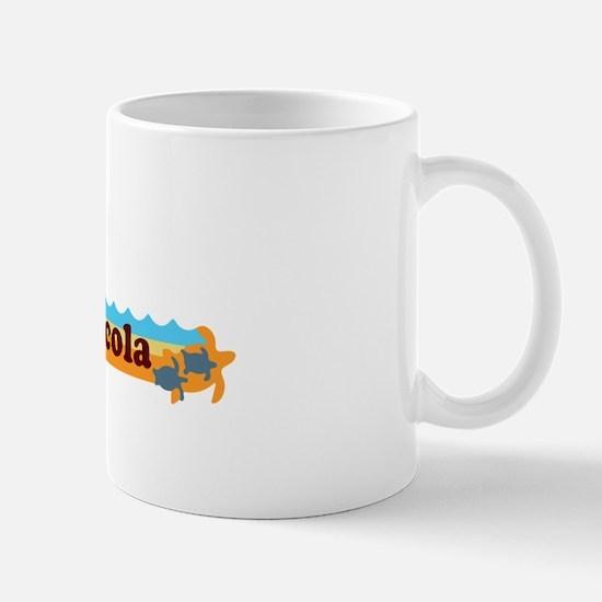 Pensacola Beach - Beach Design. Mug