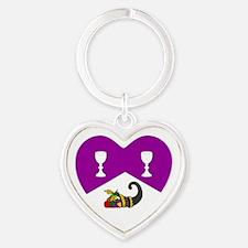 Helene's Heart Keychain