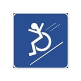 Funny disabled Stickers