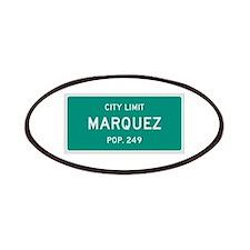Marquez, Texas City Limits Patches