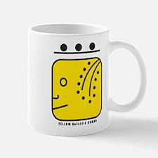 YELLOW Galactic HUMAN Mug