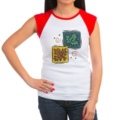 Autumn Women's Cap Sleeve T-Shirt